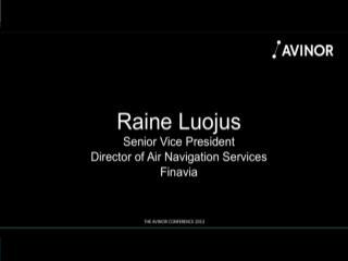 Avinor Conference 2013