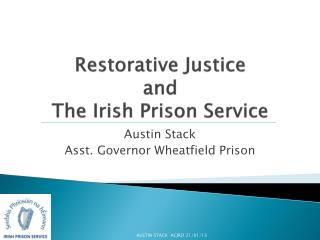 Restorative Justice and The Irish Prison Service