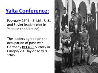 Yalta Conference: