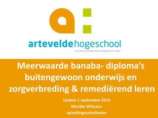 Meerwaarde  banaba -  diploma�s  buitengewoon onderwijs en  zorgverbreding & remedi�rend leren