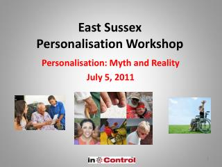 East Sussex Personalisation Workshop
