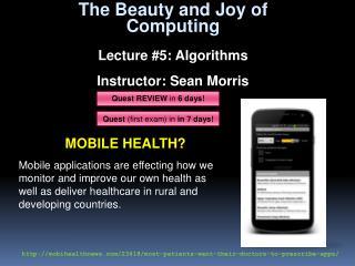 Mobile Health?