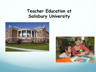 Teacher Education at Salisbury University