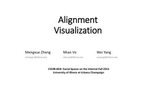 Alignment Visualization