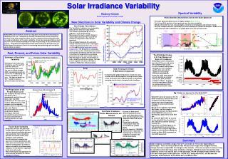 Solar Irradiance Variability