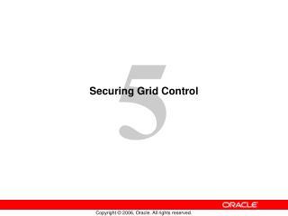 Securing Grid Control