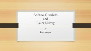Andrew Goodwin and Laura Mulvey