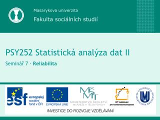 Masarykova univerzita Fakulta soci�ln�ch studi�