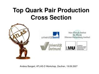 Top Quark Pair Production Cross Section
