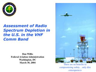 Assessment of Radio Spectrum Depletion in the U.S. in the VHF Comm Band