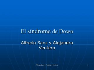 El s ndrome de Down