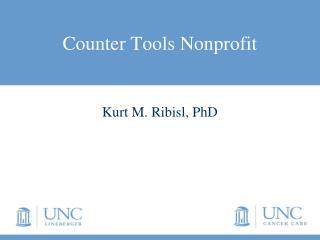 Counter Tools Nonprofit