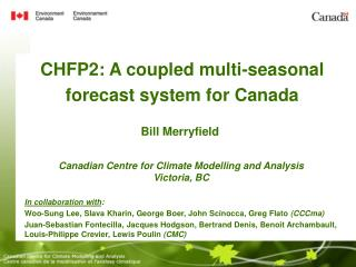CHFP2: A coupled multi-seasonal forecast system for Canada
