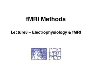 fMRI Methods Lecture8 – Electrophysiology & fMRI
