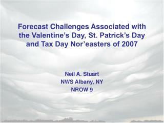 Neil A. Stuart NWS Albany, NY NROW 9