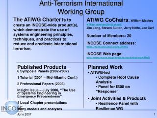 Anti-Terrorism International Working Group