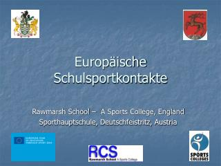 Europ äische  Schulsportkontakte