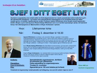 Inviterte: Samarbeidende organisasjoner, deriblant  IA-nettverket på Lillehammer.