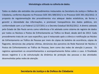 Secretaria da Justiça e da Defesa da Cidadania