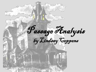 Passage Analysis by Lindsay Coppens