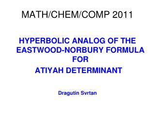 MATH/CHEM/COMP 2011