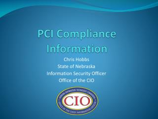 PCI Compliance Information