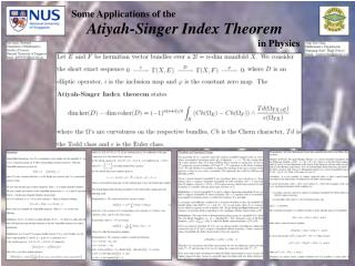 Atiyah-Singer Index Theorem