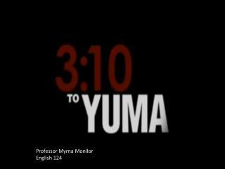 Professor Myrna Monllor English 124