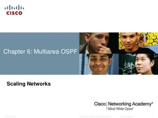 Chapter  6 : Multiarea OSPF