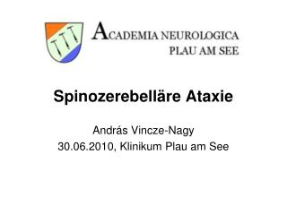 Spinozerebelläre Ataxie