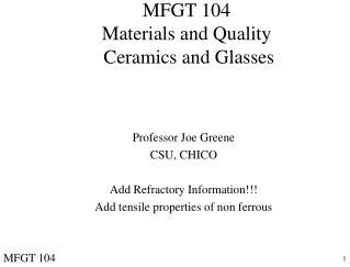 MFGT 104
