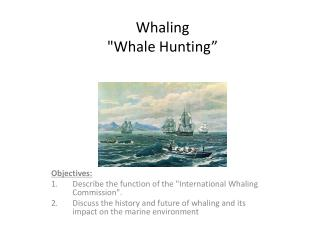 "Whaling  ""Whale Hunting"""