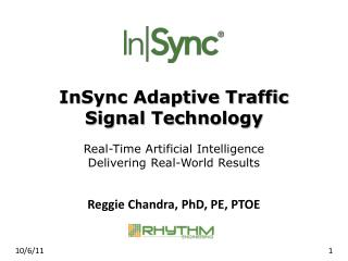 InSync Adaptive Traffic Signal Technology