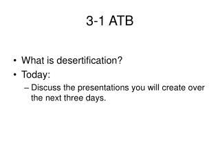 3-1 ATB