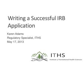 Writing a Successful IRB Application