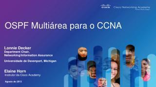 OSPF Multiárea para o  CCNA