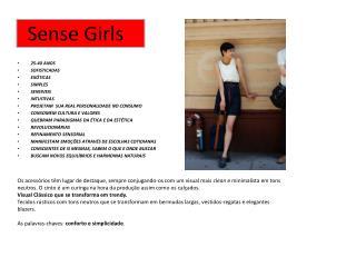 Sense  Girls