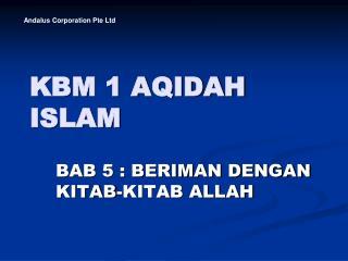 KBM 1 AQIDAH ISLAM