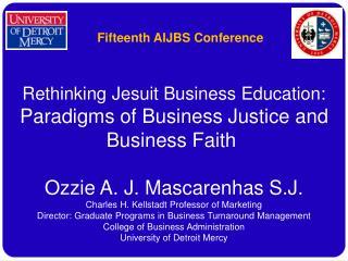 Fifteenth AIJBS Conference