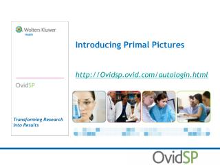 Introducing Primal Pictures Ovidsp.ovid/autologin.html