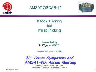 AMSAT OSCAR-40