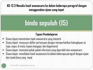bindo sepuluh (15)