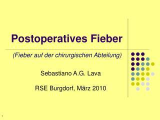 Postoperatives Fieber