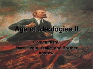 Age of Ideologies II