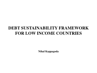 World Bank s Strategic Framework to assist countries at risks prepare for future