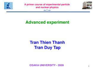 Advanced experiment Tran Thien Thanh Tran Duy Tap