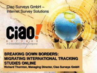 Ciao Surveys GmbH –  Internet Survey Solutions