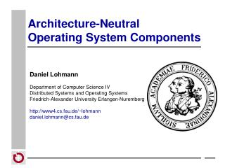 Architecture-Neutral  Operating System Components