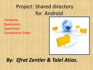 Project:Shareddirectory       for Android
