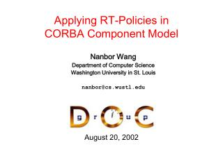 Applying RT-Policies in  CORBA Component Model